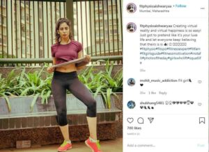 Top 10 Indian hottest female fitness models of 2020